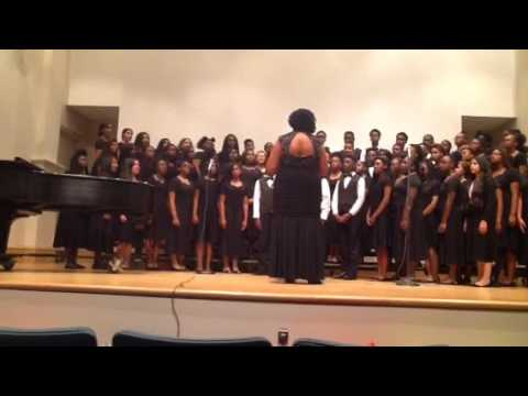 Johnnie Carr middle school choir concert May 2016