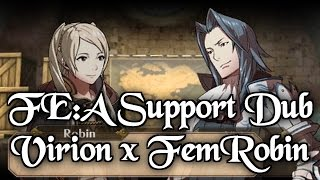 Today in the Fire Emblem Awakening Support Dubs, Virion plays chess...