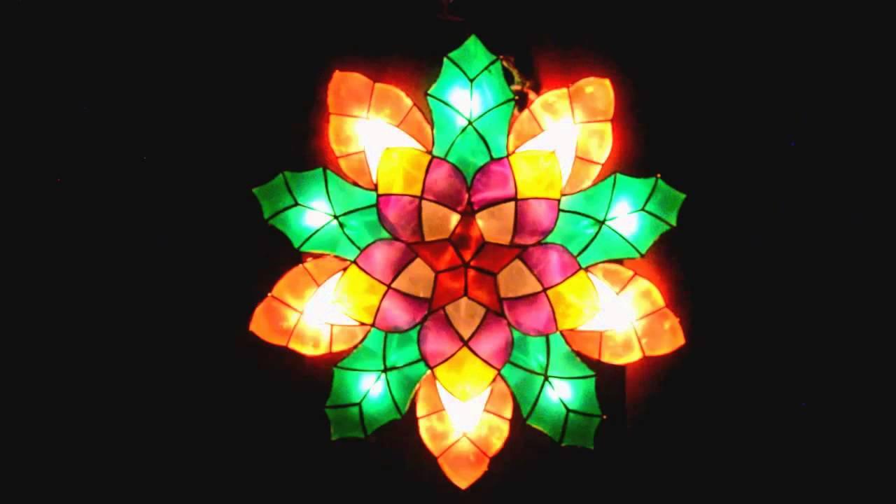 Parol or Christmas lantern : Boungavilla 20