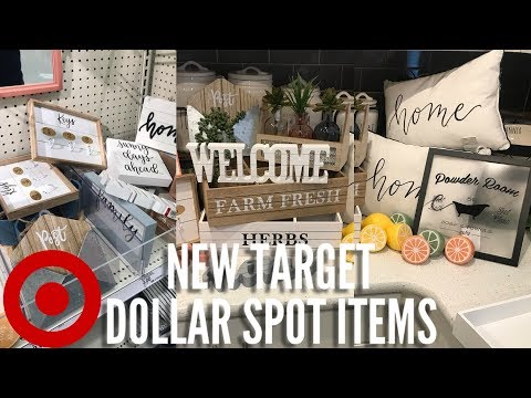 NEW TARGET DOLLAR SPOT ITEMS | SHOP WITH ME & HAUL | SPRING 2019