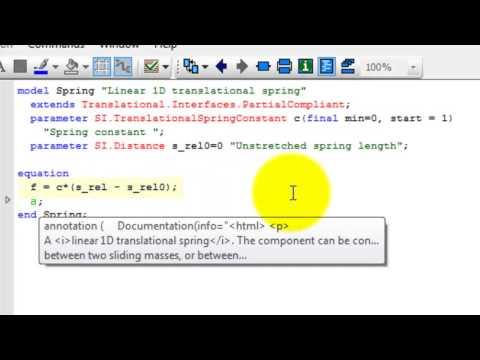 Modelica-Kurs 1: Einführung