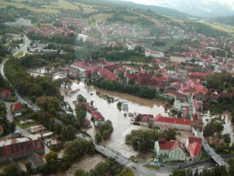 Povodně Český Krumlov