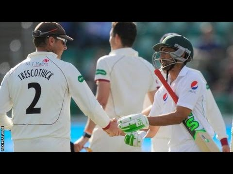 Pakistan vs Somerset DAY 1 Full Highlights 2016