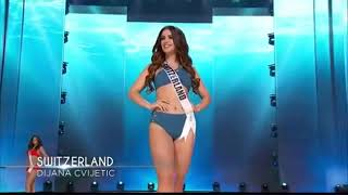MISS UNIVERSE 2017 SWIMSUIT COMPETITION (SWEDEN, SWITZERLAND, TANZANIA)