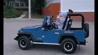 видео: Детский джип своими руками