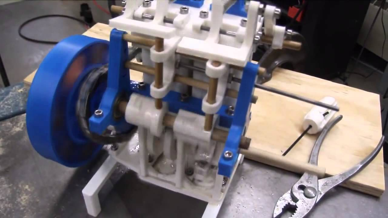 3d Printed Steam Engine Youtube