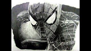 Dibujando a Spider-Man - Drawing Spider-Man