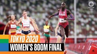 Women's 800m final 🏃♀️   Tokyo R