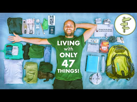 EXTREME Minimalist Living With ONLY 47 Possessions!