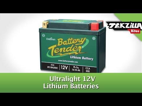 BatteryTender's Ultralight 12V Lithium Batteries - SEMA 2013