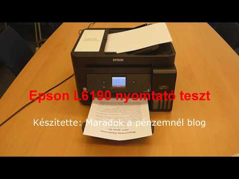 Epson L6190 Software Download
