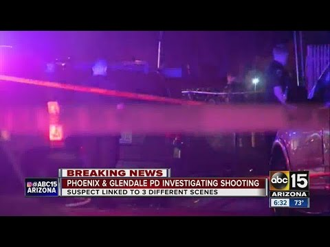 Phoenix and Glendale police investigating shooting