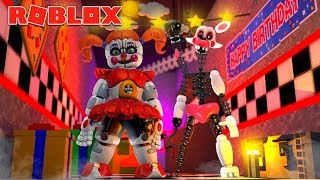 Mangle Becomes Circus Baby in Roblox Animatronic World! (Roblox Roleplay)