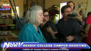 FNN: President of Umpqua Community College in Oregon Holds Press Conference After Shooting