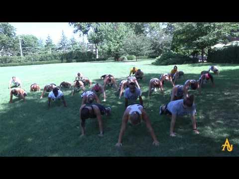Adelphi University's 22 Pushup Challenge