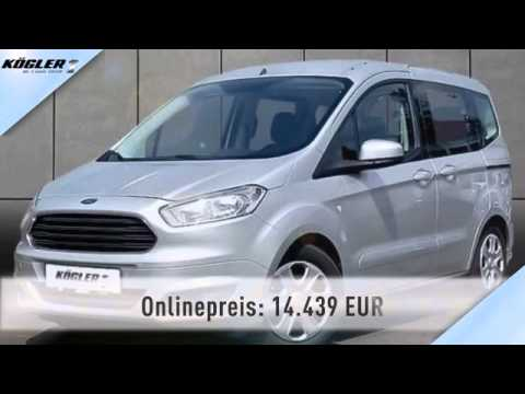 ford tourneo tourneo courier 1 0 ecoboost trend 23 youtube. Black Bedroom Furniture Sets. Home Design Ideas