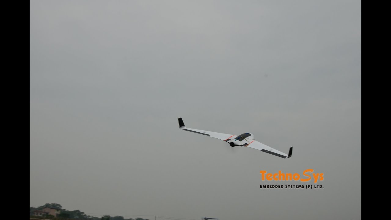 SKYWALKER X-8 UAV for Surveillance and Aerial Mapping with Parachute
