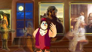 Сказки картинной галереи - Александр Кабанель (13 серия) (Уроки тетушки Совы)