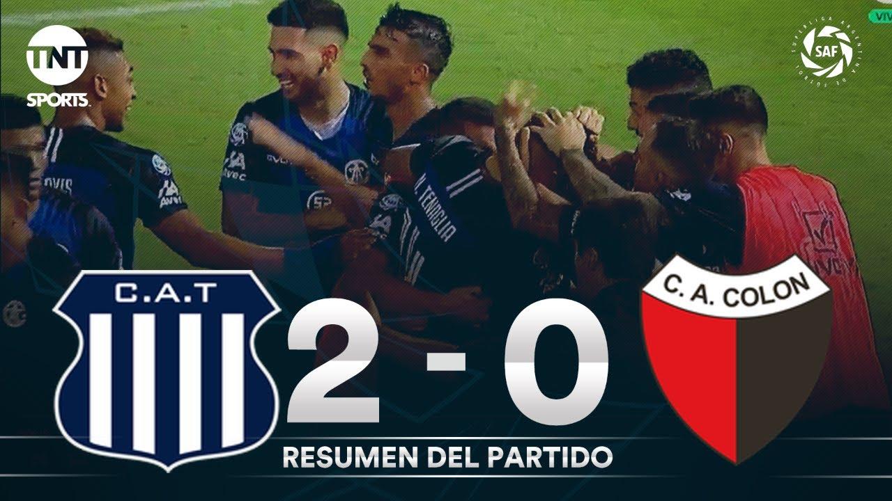 Resumen de Talleres vs Colón SF (2-0)   Fecha 23 - Superliga Argentina 2019/2020