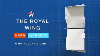 Fold 'N Fly ✈ The Royal Wing Paper Airplane