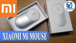 Xiaomi Mi Mouse компактная и стильная мышка с двумя режимами подключения