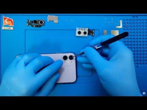 IPhone 11 Arka Kamera Ve Koruyucu Camı Lens Değişimi 🇹🇷