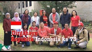Seru! Mahasiswa Indonesia di Australia Merayakan HUT RI ke 73