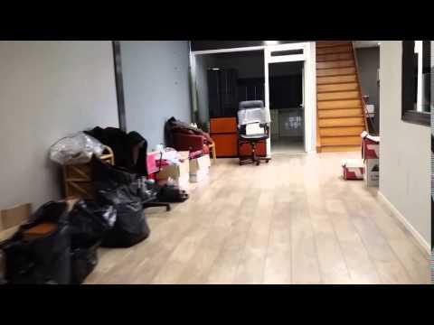 Genoeg Garage ombouwen tot kantoor - YouTube &HJ86