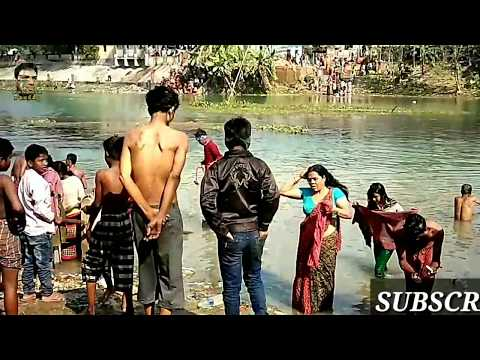 Spiritual Holly River bath in Ganga