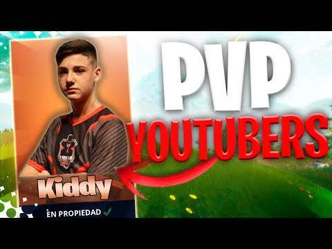 PVP CONTRA YOUTUBERS (Kiddy Creative)