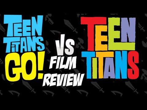 Teen Titans Go! VS  Teen Titans Film Review - A Titan-ic Multiverse Adventure!