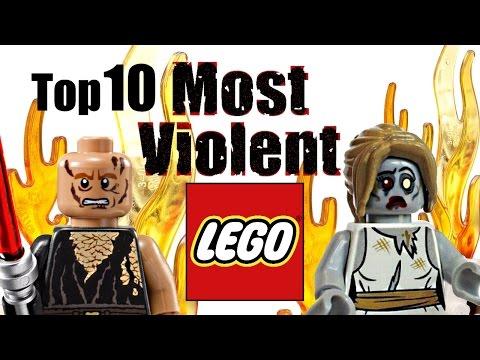 Top 10 Most Violent LEGO Sets!