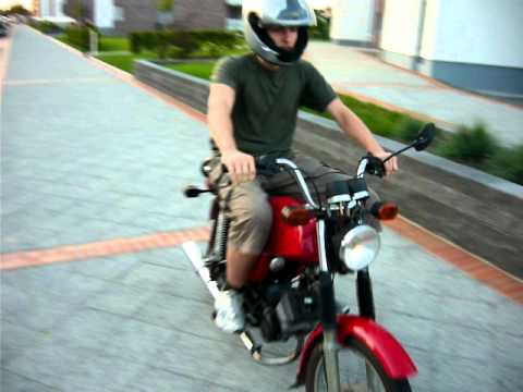 simson s51 moped 4 gang rot youtube. Black Bedroom Furniture Sets. Home Design Ideas