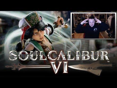 SOUL CALIBUR 6: Talim Gameplay Reveal Trailer REACTION! (SOULCALIBUR: VI)