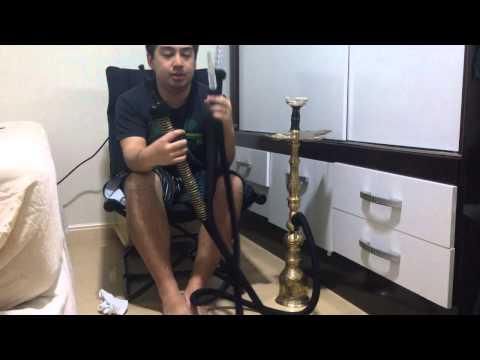 [Review & Dica] Mangueira Hukka Pro + Sultan Full Brass