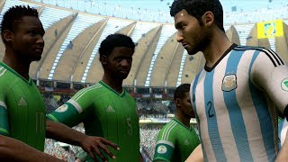 Video FIFA World Cup 2014: Argentina vs Nigeria (Group F) Simulation (EA FIFA World Cup 2014 Brazil) download MP3, 3GP, MP4, WEBM, AVI, FLV Juni 2017