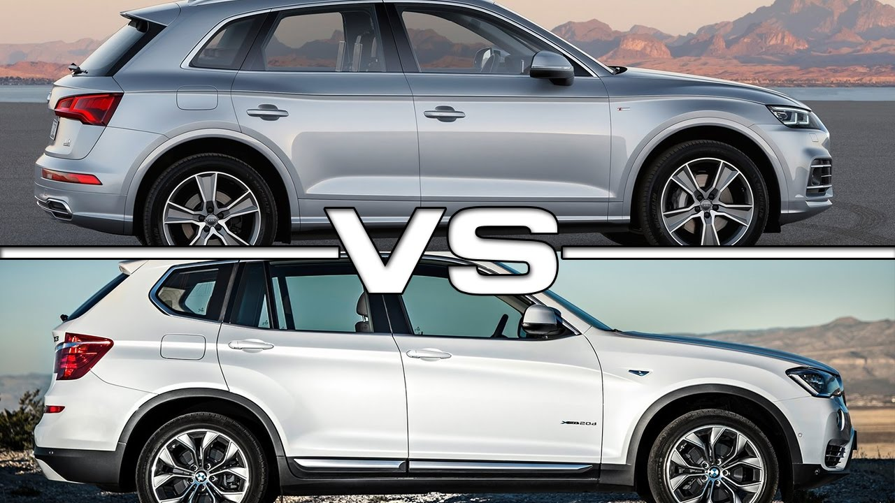 2017 Audi Q5 vs BMW X3  YouTube