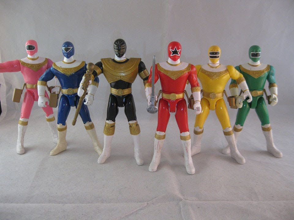 Best Power Ranger Toys And Action Figures : Retro review power rangers zeo quot figures youtube