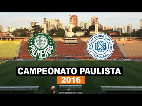 Melhores Momentos - Palmeiras 2 x 2 São Bento - Paulistão 2016 - Futebol HD