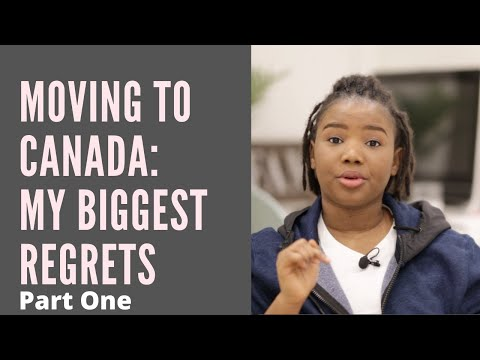 Biggest Lessons/Regrets in My Relocation Process |Know these Before Moving to Canada Part One