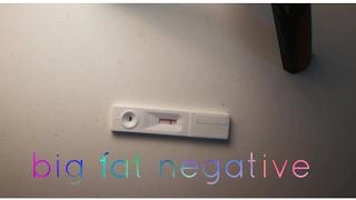 TTC- first pregnancy test vlog