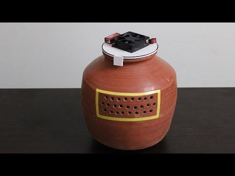 How to make MUD POT Air COOLER at Home