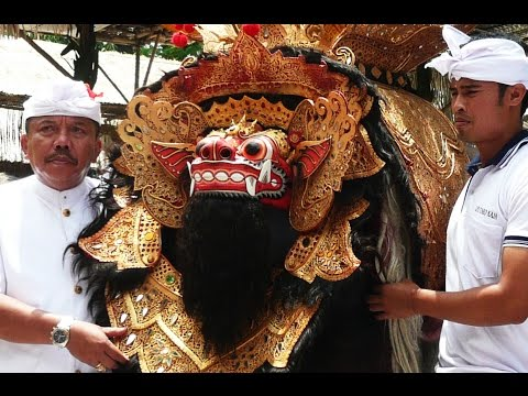 Bali: BARONG Procession in TARO (February 2015) by Hans & Fifi