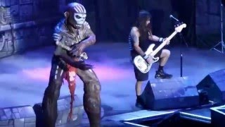 IRON MAIDEN LIVE 2016 ((( THE BOOK OF SOULS )))