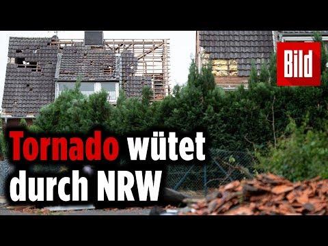 Tornado tobt durch NRW – Schwere Verwüstungen in Viersen