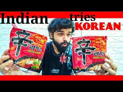KOREAN SPICY NOODLE REVIEW Nongshim Shin Ramyun Noodle Soup