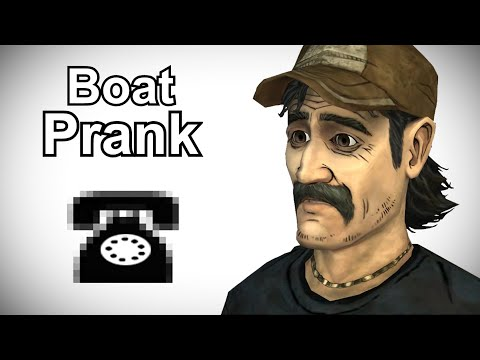 Kenny Calls Boat Shops - Walking Dead Prank Call