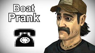 Kenny Calls Boat Shops - Walking Dead Prank Call