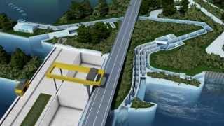 Iffezheim: Größtes Laufwasserkraftwerk Deutschlands dank fünfter Turbine
