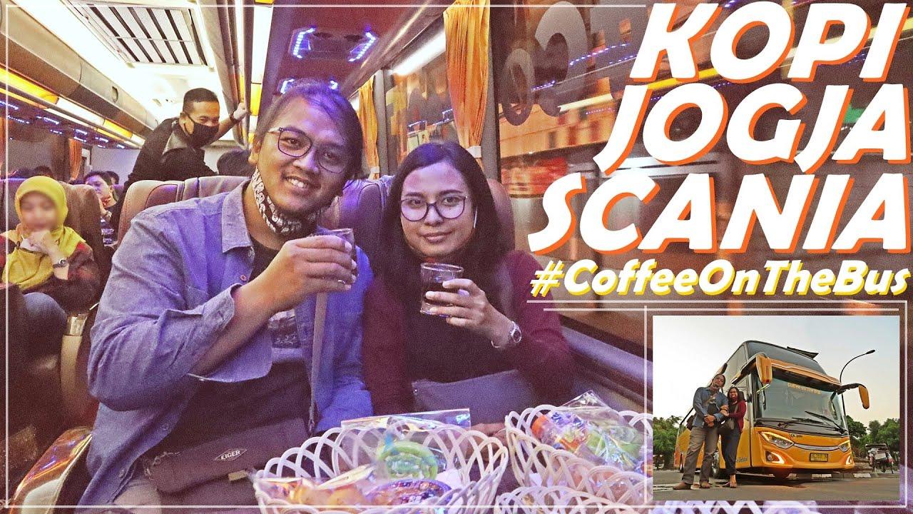 NGOPI SAMBIL CITY TOUR JOGJA NAIK BUS SCANIA | #CoffeeOnTheBus